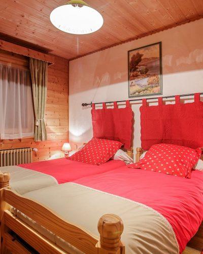 Chambre spécieuse et confortable dans notre maison de vacance proche de châtel